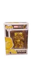 Funko Pop! Marvel Captain America Gold Chrome #377