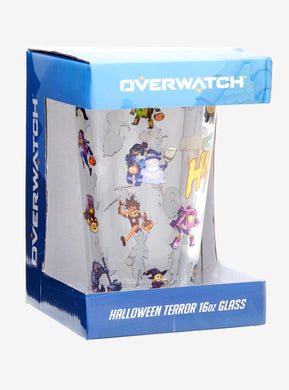 Rare Overwatch Halloween Terror Pint Glass Exclusive