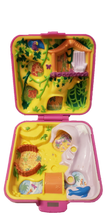 Load image into Gallery viewer, 1989 Polly Pocket Bluebird Wild Zoo Treehouse