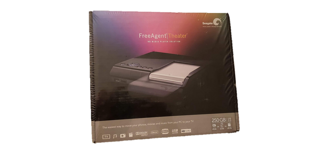 Seagate FreeAgent Theater HD Media Player + FreeAgent Go 250 GB External Hard Drive - Kal-Electibles