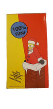 Load image into Gallery viewer, 2004 The Simpsons Talking and Dancing Santa Homer Simpson 13""