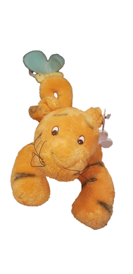 Disney Gund Classic Pooh Wind Up Musical Tigger With Moving Tail