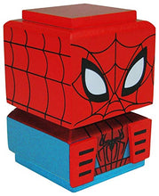 Load image into Gallery viewer, Entertainment Earth Spiderman Tiki Tiki Totem Stacking Wooden Figure