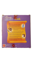 Load image into Gallery viewer, 1993 Beauty & The Beast - Belle PVC Coin Bank