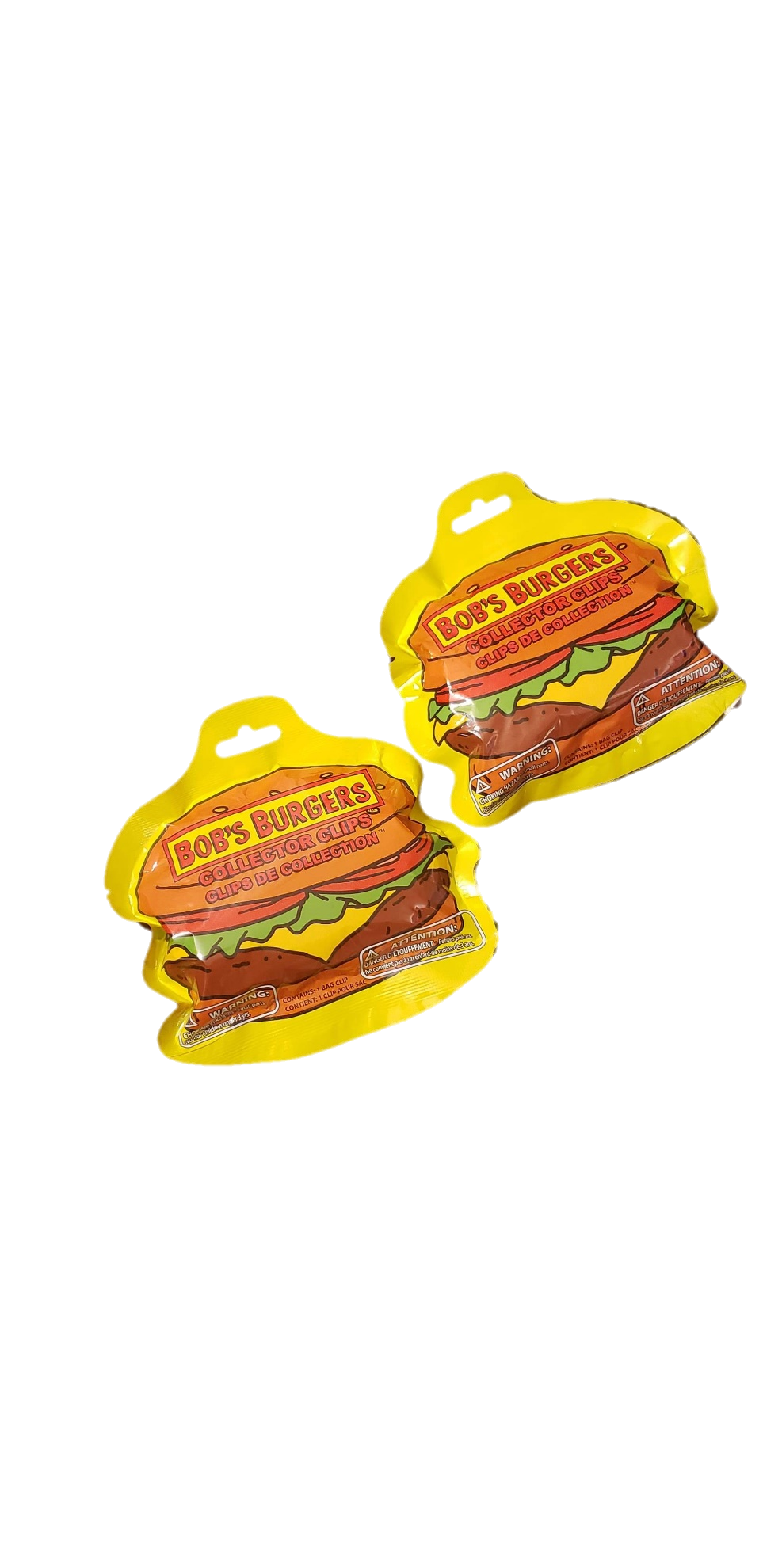 Bob's Burgers Series 1 Collector Clips Blind Bag - 2 Pack