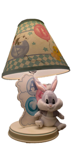 1997 Original Baby Looney Tunes Baby Bugs Bunny ABC Lamp