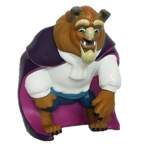 1993 Beauty & The Beast - Beast PVC Coin Bank