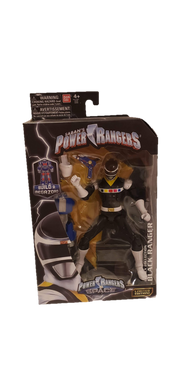 Power Rangers In Space Legacy Black Ranger Figure