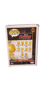 Funko Pop! Marvel Black Widow Gold Chrome #380