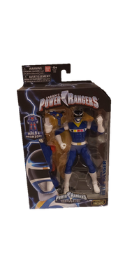 Power Rangers In Space Legacy Blue Ranger Figure