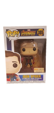 Funko Pop! Marvel Avengers Infinity War Iron Spider BoxLunch Exclusive
