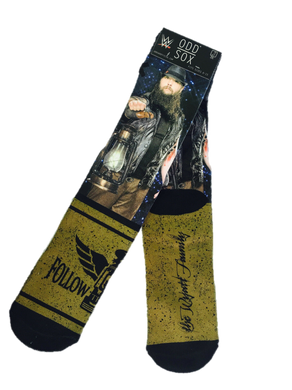 WWE Slam Loot Crate Bray Wyatt - Follow The Buzzards Crew Socks