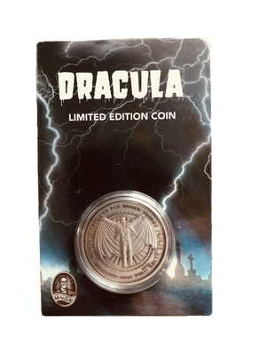Zavvi Zbox Exclusive Universal Monsters Dracula Limited Edition Coin