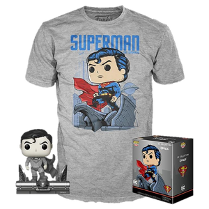 Funko POP! and T-Shirt: Superman by Jim Lee