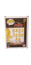 Load image into Gallery viewer, Funko Pop! Marvel Captain America Gold Chrome #377