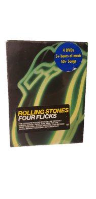 The Rolling Stones - Four Flicks 4 Disc DVD Set