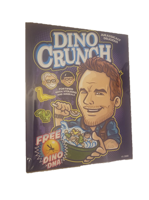 Jurassic Park Chris Pratt Dino Crunch Art Print Bam Box Exclusive Signed Create Or Destroy COD