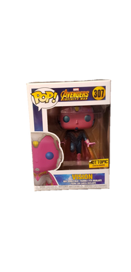 Funko Pop! Avengers Infinity War Vision Hot Topic Exclusive