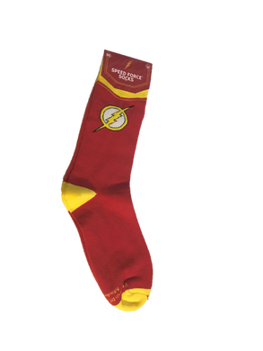 DC Comics World's Finest Collection Exclusive The Flash Speed Force Socks