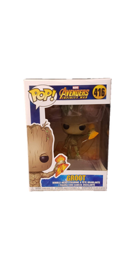 Funko Pop! Avengers Infinity War Groot With Stormbreaker