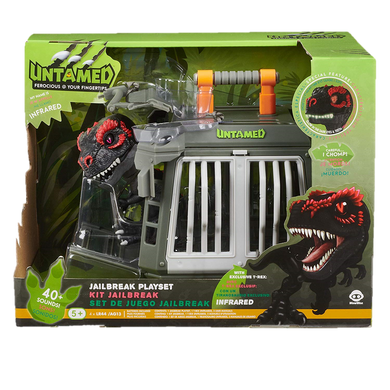 WowWee Fingerlings Untamed Jailbreak Playset w/ Infrared