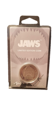 Jaws 'Amity Island Welcomes You' Collector's Limited Edition Coin: Silver Variant