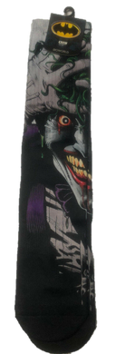The Joker Batman Killing Joke DC Comics Adult Crew Sublimated Socks