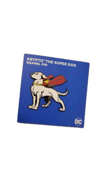 Worlds Finest Collection Exclusive Krypto the Superdog Pin