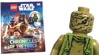 LEGO Star Wars Chronicles Of The Force Hardcover with Exclusive Unkars Brute Figure