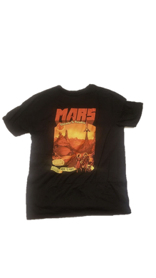 My Geek Box Exclusive Mars T Shirt Post Apocalyptic 50's Style