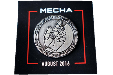Loot Crate Exclusive Mecha Pin August 2016