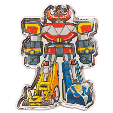 Loot Crate Exclusive Power Rangers Megazord Pin
