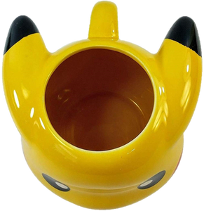 16 OZ Pokemon Pikachu Face Molded Ceramic Coffee Mug