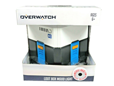 Overwatch Loot Box Mood Light