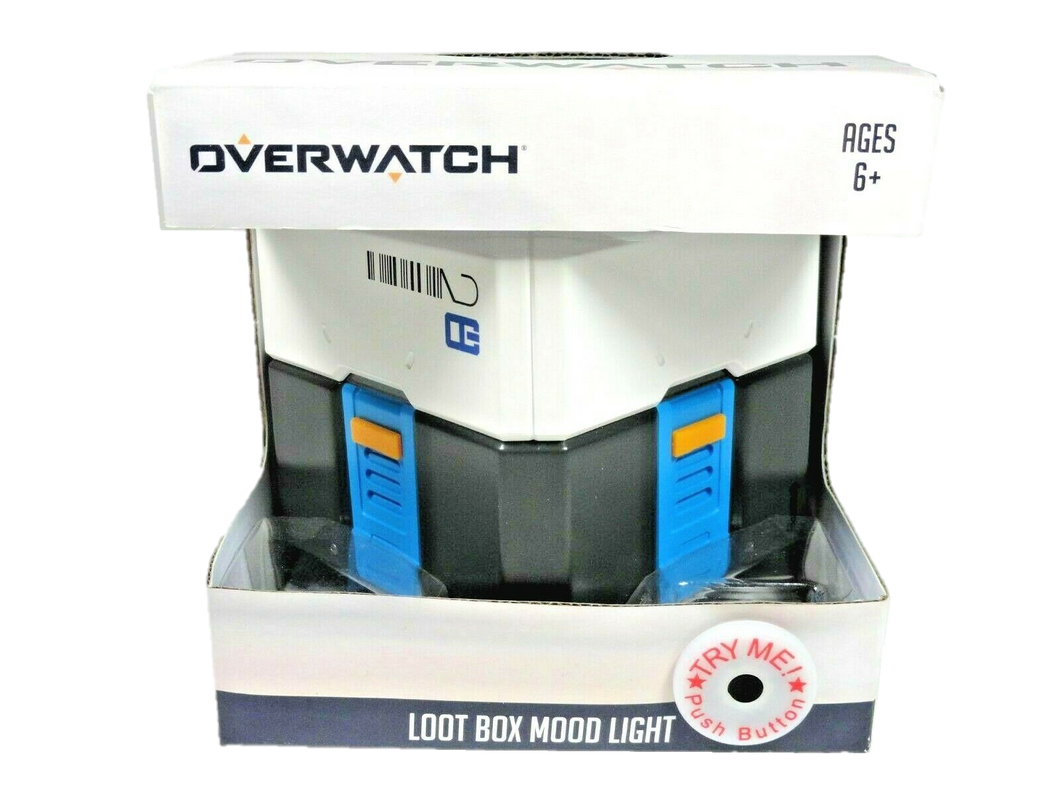 Overwatch Loot Box Mood Light - Kal-Electibles