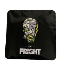 Load image into Gallery viewer, Loot Fright : Mummy Glow In The Dark Exclusive Enamel Pin
