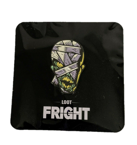 Loot Fright : Mummy Glow In The Dark Exclusive Enamel Pin