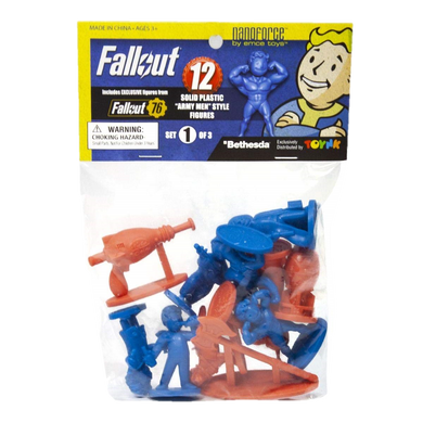 Toynk Fallout Nanoforce Series 1 Army Builder Figure Collection Set 1
