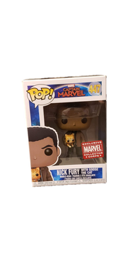 Funko Pop! Captain Marvel Nick Fury And Goose Exclusive #447