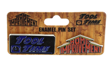 SDCC 2018 Exclusive Home Improvement Tool Time Enamel Collector Pin Set