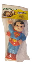Load image into Gallery viewer, Superman Super Juniors Jr's Protecto Squeeze Toy 1978 Sealed Unpunched