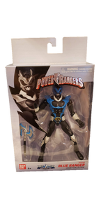 Power Rangers In Space Legacy Psycho Blue Ranger Figure - Kal-Electibles