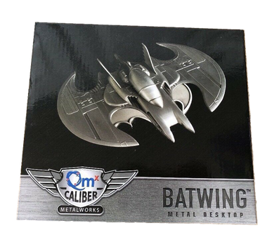 QM Caliber MetalWorks Batwing Metal Desktop Replica