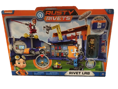 Spin Master Nickelodeon Nick Jr Rusty Rivets Rivet Lab