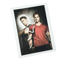 Load image into Gallery viewer, Culturefly Supernatural Box Exclusive Sam And Dean Portrait Print