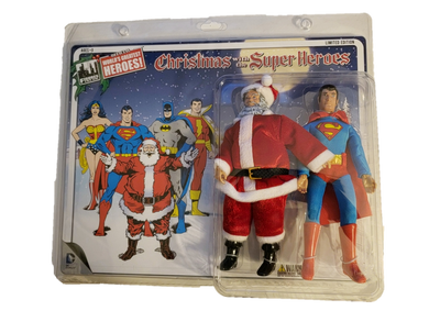 DC Comics Limited Edition Superman and Santa Claus Two-Pack 8