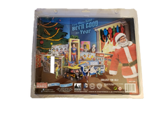 "Load image into Gallery viewer, DC Comics Limited Edition Superman and Santa Claus Two-Pack 8"" Mego Style"