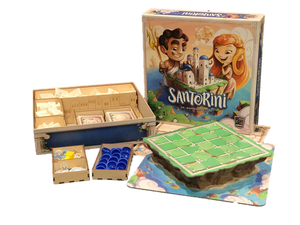 Spin Master Santorini - Strategy-Based Board Game