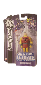 "2007 Justice League Unlimited 4"" Shining Knight Figure - Kal-Electibles"