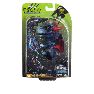 WowWee Fingerlings Untamed Dragon – Shockwave - Kal-Electibles